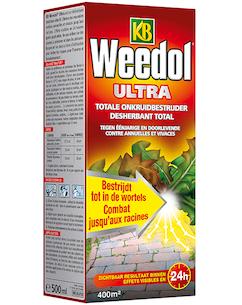 KB Weedol Ultra totale onkruidbestrijder 500ml