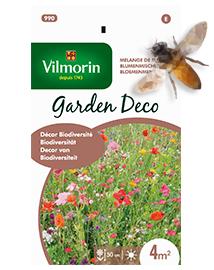 Bloemenmengsel zaden Biodiversiteit in tuin 8g