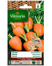 Vilmorin Wortel zaden Parijse markt 1,5g