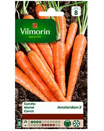 Vilmorin Wortel zaden Amsterdam 3 6g