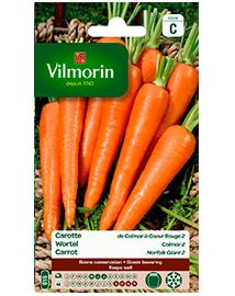 Vilmorin Wortel zaden Colmar 2 6g