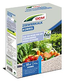 DCM Zeewierkalk voor moestuin, gazon en buxus 4Kg