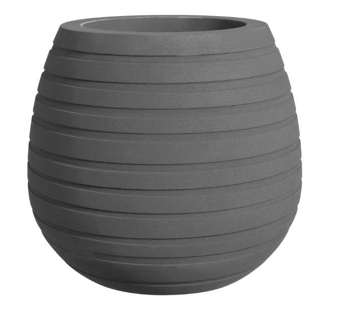 Elho Allure Vase Low 43cm Mcl