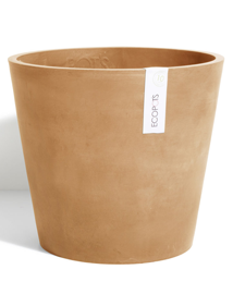 ECOPOTS Amsterdam Grote Ronde bloempot in Terracotta 60cm