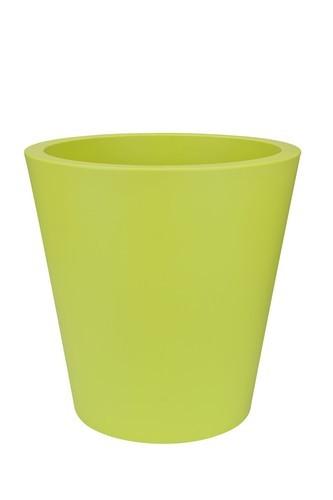 Elho Pure Straight Round Ø 50 cm - lime groen