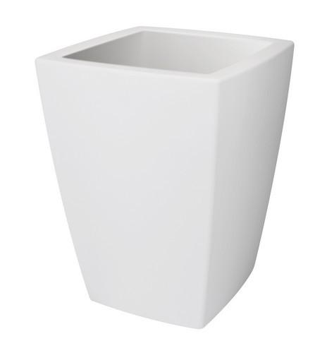 Elho Pure Soft Square Medium 40X40 cm - wit
