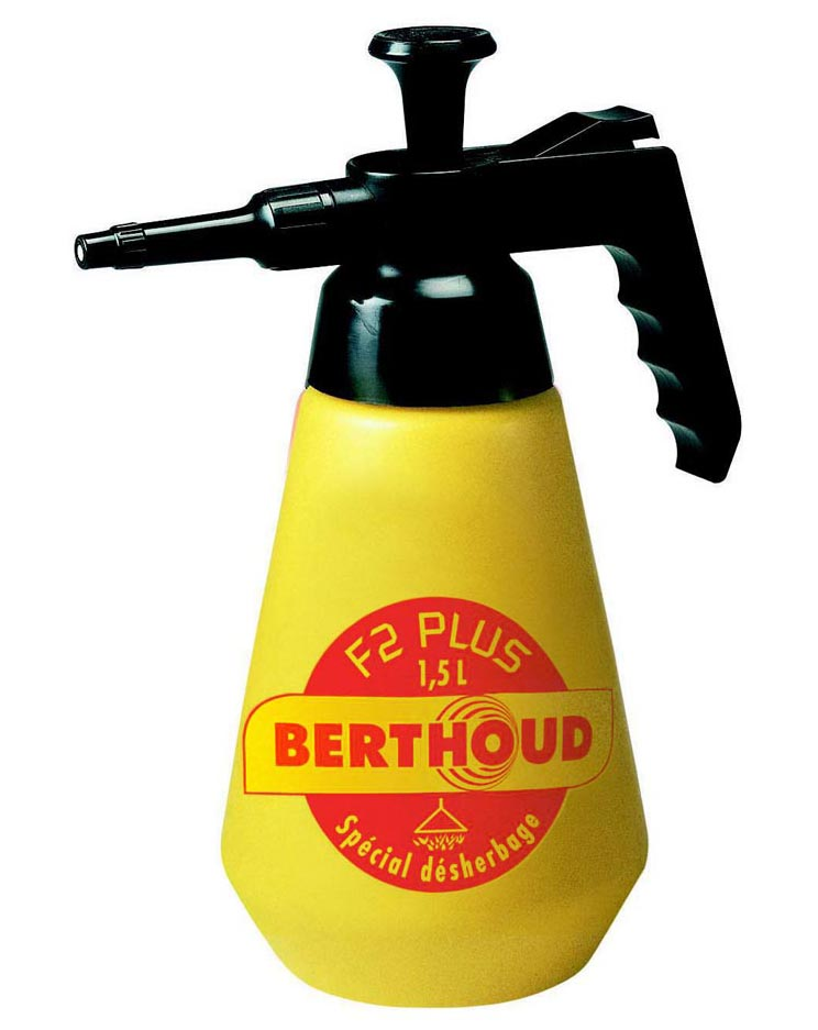 Berthoud F2 Plus handspuit met onkruidkap 1,5 L