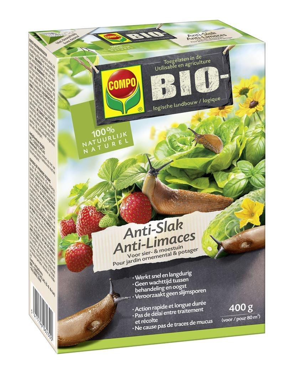 Biologische Slakkenkorrels Anti-Slak voor sier en moestuin 400g