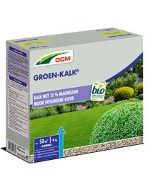 DCM Groenkalk voor gazon en siertuin 4kg
