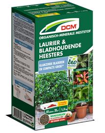 DCM Meststof voor laurier en bladhoudende heesters 1,5kg