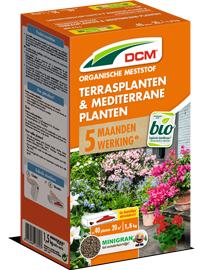 DCM Meststof Terrasplanten en Mediterrane Planten 1,5kg