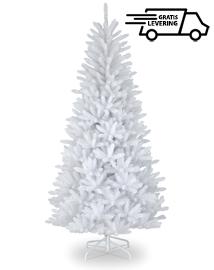 Witte kunstkerstboom Frozen 210 cm