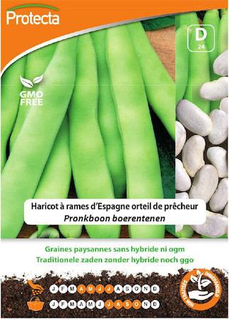 Zaadvast Pronkboon Boerentenen zaden