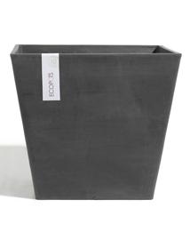 ECOPOTS Rotterdam vierkante bloempot Dark Grey 50cm