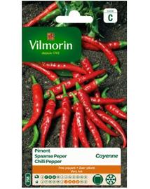 Vilmorin Spaanse Peper zaden Cayenne 2g