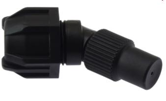 Sproeidop, regelbaar, 1.3 mm PP EPDM