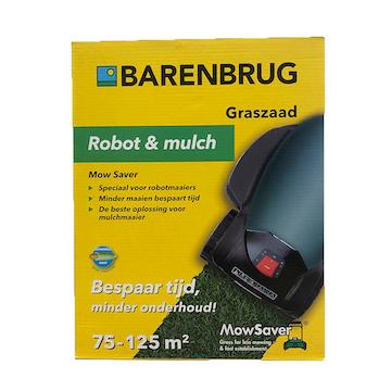 Graszaad Barenbrug Robot&Mulch ecologisch gras 70-125m²