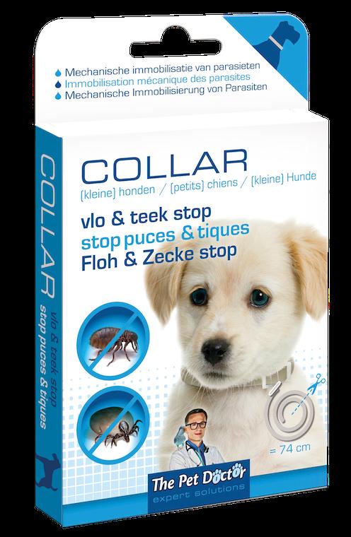Vlo en Teek Stop Halsband Hond